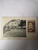 Oostende - Ostende // Theatre Et La Rue D'Quest ( Met Vignet Ostende Centre D'Art) Ca 1900 - Oostende