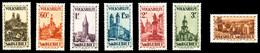 ** SARRE, N°155/61, Série De 1933, Les 6 Valeurs TB (signés Scheller/certificat)  Qualité: **  Cote: 820 Euros - Sarre