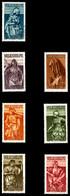 ** SARRE, N°165/71, Série De 1934, Les 7 Valeurs TB  Qualité: **  Cote: 300 Euros - Sarre