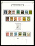 N Colonies Françaises, Collection En 1 Volume Essentiellement Neufs Comprenant: HOI HAO, INDE, INDOCHINE, ININI, KOUANG  - Frankreich (alte Kolonien Und Herrschaften)