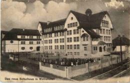 Zürich Schulhaus Wollishofen - ZH Zurich