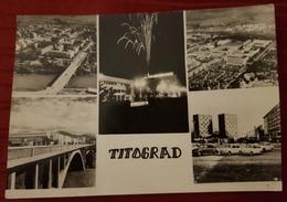 TITOGRAD 1966. ERROR, INVERTED DATE IN POSTMARK, RARE, DATUM NAOPAČKE - Montenegro