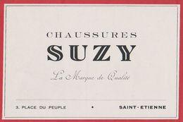 Chaussures Suzy, Saint Etienne, Loire (42), 1949. - Werbung