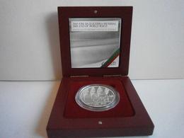 Portugal- Moeda De 8,00 Prata -Fim Da II Guerra Mundial Em Seu Estojo - Portugal