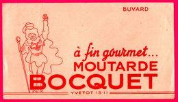 BUVARD Illustré - A Fin Gourmet ... - Moutarde BOCQUET - Yvetot (76) - Moutardes