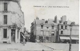 THOUARS LA POSTE PLACE SAINT MEDARD QUINCAILLERIE BORDES MEUBLES BOIREAU ... - Thouars