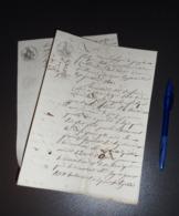 Document Tribunal St Marcellin Isère 16 Aout 1811 - Cachets Généralité