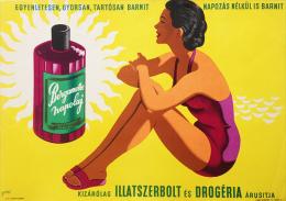 @@@ MAGNET - Bergamotte Suntan Oil - Publicitaires