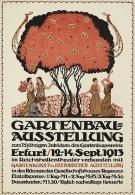 @@@ MAGNET - Gartenbau-Ausstellung Erfurt 1913 - Publicitaires
