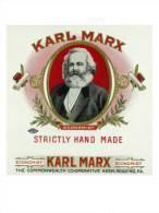 @@@ MAGNET - Karl Marx Brand Cigar - Publicitaires