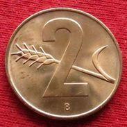 Switzerland 2 Rappen 1966 Suiça Suisse Svizzera Schweiz UNCºº - Suisse