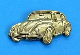 1 PIN'S //   ** COCCINELLE / VOLKSWAGEN / DORÉ ** . (© Qualité Collectors Série Limitée) - Volkswagen