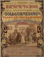 @@@ MAGNET - Verschenen Bij W. Kirchner Amsterdam. Harmoniumschool Uitgegeven Door Goldschmeding Piano En Orgelhandel - Publicitaires