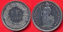 Switzerland Swiss 1 Franc 1995 VF - Suisse