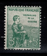 YV 149 N** 1ere Orphelin Cote 75 Euros - Neufs