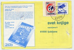 YUGOSLAVIA 1988 Commercial Postcard With Red Cross Week 50d Tax.  Michel ZZM154 - Charity Issues