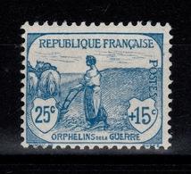 YV 151 N* 1ere Orphelin Cote 90 Euros - Neufs