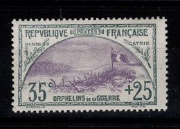 YV 152 N* (légère) 1ere Orphelin Cote 190 Euros - Neufs