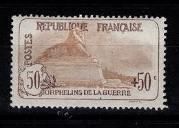 YV 153 N* 1ere Orphelin Bien Centré Cote 300 Euros + Centrage - Neufs