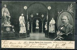 "CPA S/w AK Schweiz Ligornetto/Stabio Bei Tessin 1908 ""Interno Museo Vela Ligornetto"" 1 AK Benutzt - Cartoline"