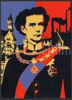 Large Postcard / ROYALTY / Unused / König Ludwig II Von Bayern / Haus Der Bayerischen Geschichte - Familles Royales