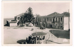DOUAOUDA MARINE - LA PLACE- PRES DE  CASTIGLIONE - TIMBRE + CACHET -  ALGERIE. - Other Cities