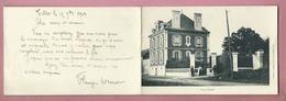 CPA Double , Dépliant , à Confirmer : Villa Fleury Correspondance : Le Tillet - Autres Communes