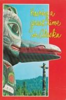 Alaska Totem Poles Having A Great Time 2000 - United States