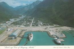 Alaska Skagway Birds Eye View 1988 - United States