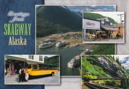 Alaska Greetings From Skagway With Multi View 2002 - United States