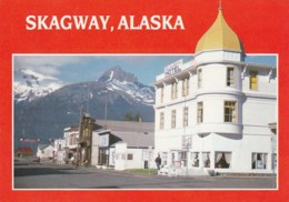 Alaska Skagway Broadway Business District 1988 - United States