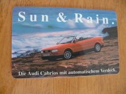 Phonecard Germany TAG F 16 Audi Car 6.000  Ex. - Altri
