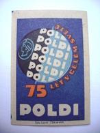 Czechoslovakia  Matchbox Label 1964 - Company Ironworks POLDI Kladno - 75 Years Around The World - Boites D'allumettes - Etiquettes