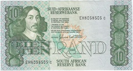 Sudáfrica - South Africa 10 Rand 1982-85 Pick 120c Ref 1 - Suráfrica