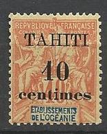 TAHITI N° 32  NEUF** LUXE  SANS CHARNIERE / MNH - Tahiti (1882-1915)