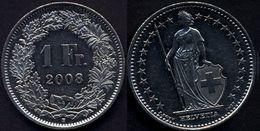Switzerland Swiss 1 Franc 2008 XF - Suisse