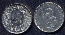 Switzerland Swiss 1 Franc 2009 XF - Suisse