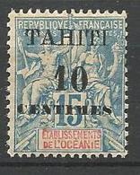 TAHITI N° 33 Type II NEUF** LUXE  SANS CHARNIERE / MNH - Tahiti (1882-1915)