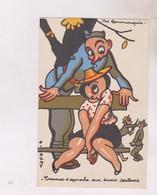 CPA ILLUSTREE A. REMY, TRAVAUX D APPROCHE (voir Dessin Au Dos) - Remy, A.