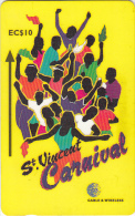 ST. VINCENT & THE GRENADINES(GPT) - Carnival 2, CN : 304CSVA, Tirage 22500, Used - San Vicente Y Las Granadinas