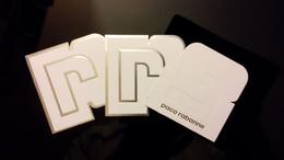 Paco Rabanne Parfum Billet Lot De 3 - Perfume Cards