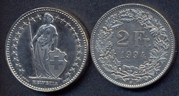 Switzerland Swiss 2 Franc 1994 VF - Suisse