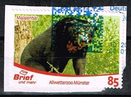 Brief Und Mehr, Allwetterzoo Münster: Malaienbär - [7] Federal Republic