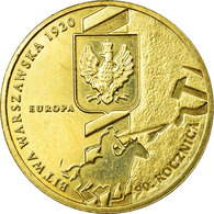 Monnaie, Pologne, Battle Of Warsaw, 2 Zlote, 2010, Warsaw, TTB, Laiton, KM:735 - Pologne