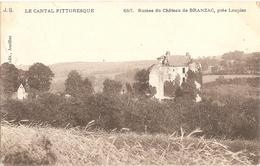 15 - Ruines Du Château De BRANZAC, Près Loupiac - Autres Communes