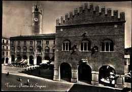 82005) CARTOLINA DI TREVISO-PIAZZA DEI SIGNORI-VIAGGIATA - Treviso