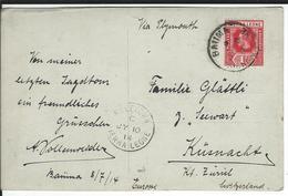 Sierra Leone SG 113, Mi 82 Baiima 9.7.14 To Küsnacht CH - Sierra Leone (...-1960)