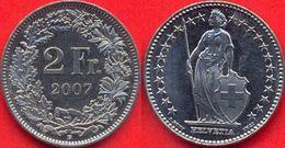 Switzerland Swiss 2 Franc 2007 AXF - Suisse