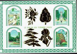 FRANCE - LE  SALON  DU  TIMBRE 2004 - JARDINS De FRANCE - Bloc N° 71 - - Blocs & Feuillets