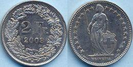 Switzerland Swiss 2 Franc 2008 AXF - Suisse